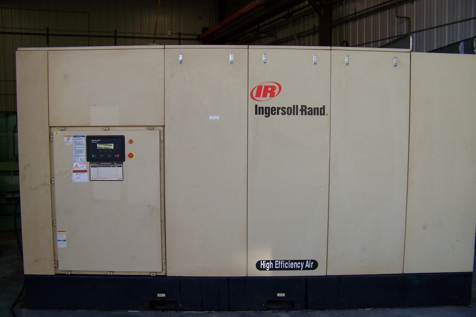 Ingersoll Rand 450hp Two Stage 120 Psi Rotary Screw Air